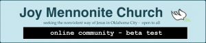 LOGOL: Joy Mennonite Church - Online Community Beta Test